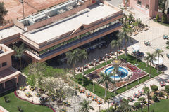 Edificios prominentes de El Cairo céntrico Fotos de archivo libres de regalías
