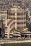 Edificios prominentes de El Cairo céntrico Imagenes de archivo