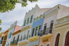 Edificios Recife el Brasil del viejo estilo imagen de archivo libre de regalías