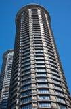 Edificios redondos foto de archivo