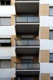 Edificios residenciales Imágenes de archivo libres de regalías