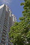 Edificios residenciales de la alta subida Imágenes de archivo libres de regalías