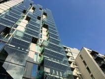 Edificios residenciales de la alta subida Imagen de archivo libre de regalías