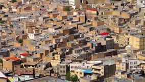 Edificios residenciales en Tabriz, Azerbaijan almacen de video