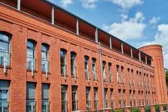 Edificios restaurados del cuartel anterior de los militares Imagen de archivo libre de regalías
