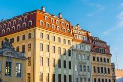 Edificios restaurados en Dresden Imágenes de archivo libres de regalías
