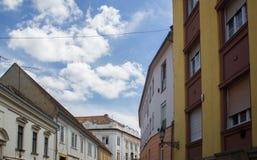 Edificios románticos Imagen de archivo libre de regalías