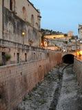 Edificios sicilianos Fotografía de archivo libre de regalías