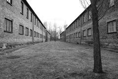 Edificios sin vida humana Foto de archivo libre de regalías