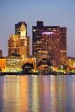 Edificios urbanos de Boston Fotos de archivo libres de regalías