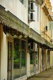 Edificios vacíos Shangai China Imagen de archivo