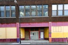 Edificios vacantes imágenes de archivo libres de regalías