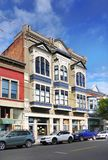 Edificios victorianos históricos, puerto Townsend, Washington, los E.E.U.U. Imagen de archivo