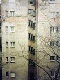 Edificios viejos Foto de archivo libre de regalías