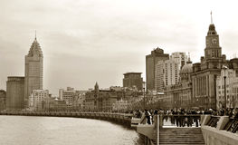 Edificios viejos fotografía de archivo libre de regalías