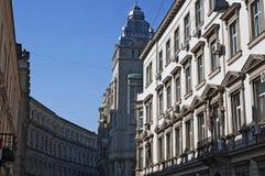 Edificios viejos Foto de archivo
