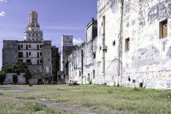 Edificios viejos alrededor del área del capitol en La Habana, Cuba Fotos de archivo