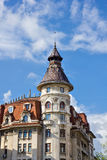Edificios viejos de Bucarest Imágenes de archivo libres de regalías