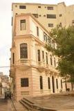 EDIFICIOS VIEJOS DE CUBA LA HABANA Imagen de archivo libre de regalías