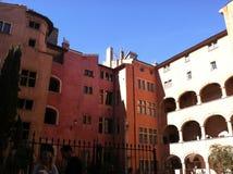 Edificios viejos de Lyon, Francia Fotografía de archivo
