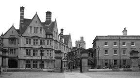 Edificios viejos de Oxford Imagen de archivo libre de regalías