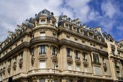 Edificios viejos de París Fotografía de archivo