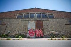 Edificios viejos del almacén Fotos de archivo libres de regalías