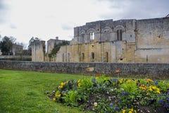 Edificios viejos del pueblo de Saint Emilion fotos de archivo libres de regalías