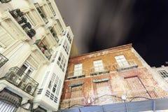 Edificios viejos en Cartagena, España Imagen de archivo