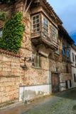 Edificios viejos en el Antalya foto de archivo libre de regalías