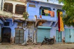 Edificios viejos en Jodhpur, la India foto de archivo