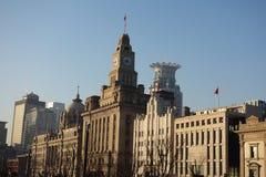 Edificios viejos en la Federación de Shangai Imagen de archivo