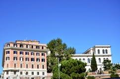 Edificios viejos en Roma fotografía de archivo