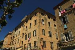 Edificios viejos en rousse del ile Fotografía de archivo