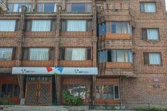 Edificios viejos en Srinagar, la India imagen de archivo libre de regalías