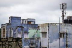 Edificios viejos situados en Jaipur, la India Imágenes de archivo libres de regalías