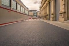 Edificios viejos y nuevos Foto de archivo libre de regalías