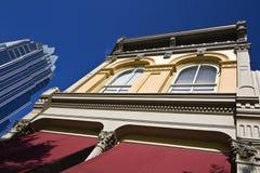Edificios viejos y nuevos de Austin - Imagen de archivo