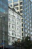Edificios viejos y nuevos en Auckland NZ Fotografía de archivo