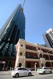 Edificios viejos y nuevos en Perth Australia fotos de archivo libres de regalías