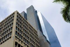 Edificios y ambiente céntricos de Miami Imagen de archivo