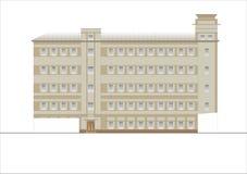 Edificios y estructuras del temprano y de los mediados del siglo XX Imagen de archivo