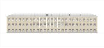 Edificios y estructuras del temprano y de los mediados del siglo XX Fotografía de archivo libre de regalías