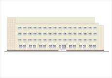 Edificios y estructuras del temprano y de los mediados del siglo XX Foto de archivo libre de regalías