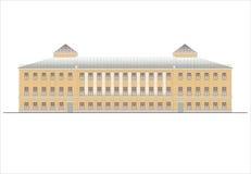 Edificios y estructuras del temprano y de los mediados del siglo XX Dibujos de casas de la arquitectura clásica del final de 18-1 Foto de archivo libre de regalías