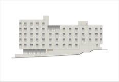 Edificios y estructuras del temprano y de los mediados del siglo XX Dibujos de casas de la arquitectura clásica del final de 18-1 Fotografía de archivo libre de regalías