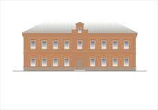 Edificios y estructuras del temprano y de los mediados del siglo XX Dibujos de casas de la arquitectura clásica del final de 18-1 Imagenes de archivo