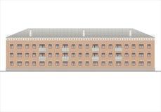 Edificios y estructuras del temprano y de los mediados del siglo XX Dibujos de casas de la arquitectura clásica del final de 18-1 Imagen de archivo