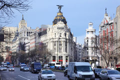 Edifisio Metropolis building Royalty Free Stock Photo