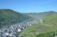 Ediger-Eller,Mosel River,Mosel Valley,Germany Stock Photos